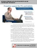 Resolving problems with Dell ProSupport Plus and SupportAssist technology