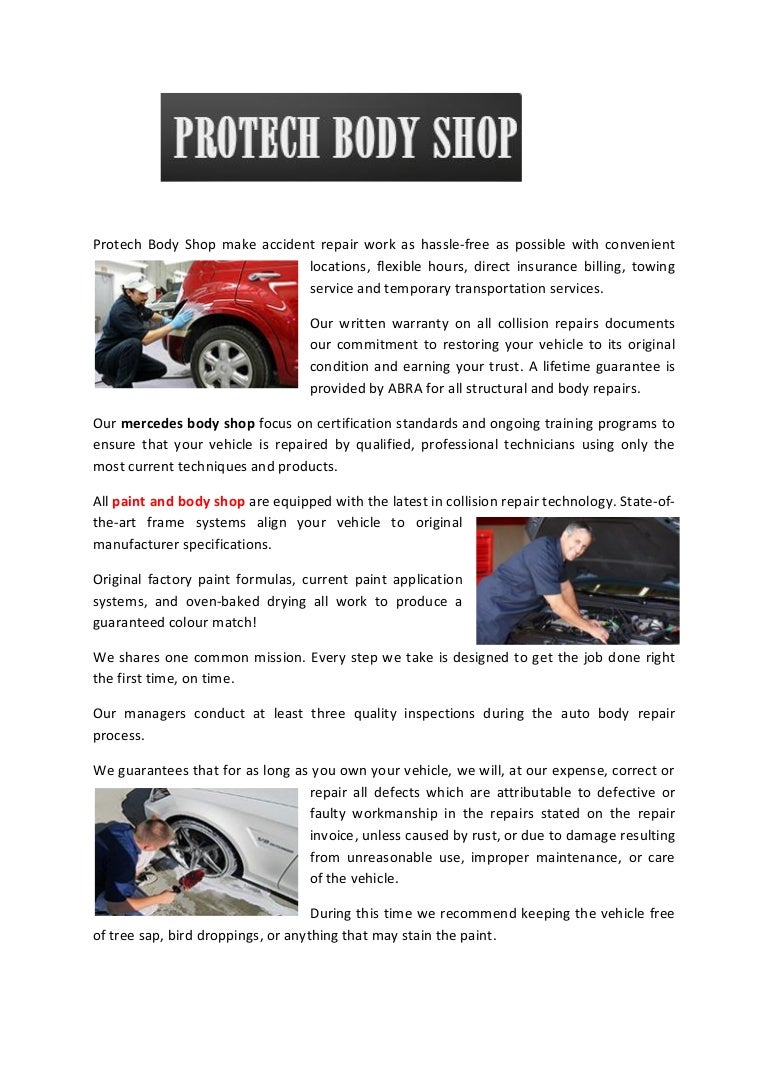 Protect body shop recognised for quality repair of luxury cars