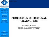 Protection of fictional characters