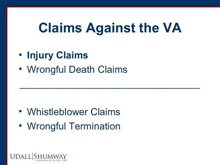 Protect Our Veterans: Injury Claims Against the VA