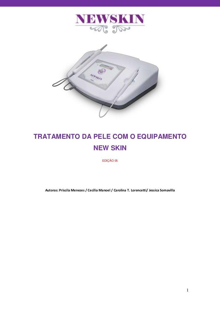 Protocolo De Tratamento Da Pele Com O Equipamento New Skin