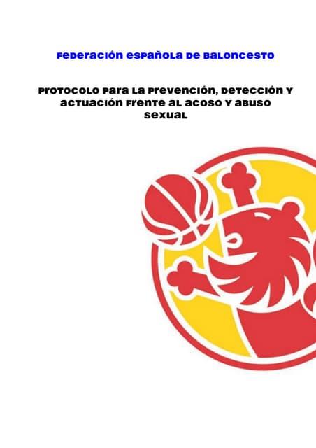 Acoso y abuso sexual en el deporte: Protocolo prevención, detección y actuación.