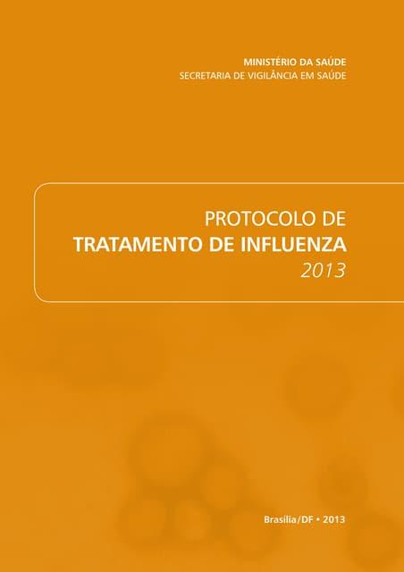 Protocolo de Tratatamento de Influenza