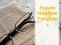 Proven headline templates