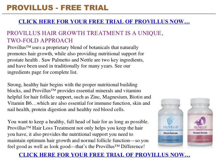 Provillus Free Trial