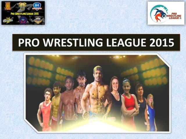 Pro Wrestling League 2015