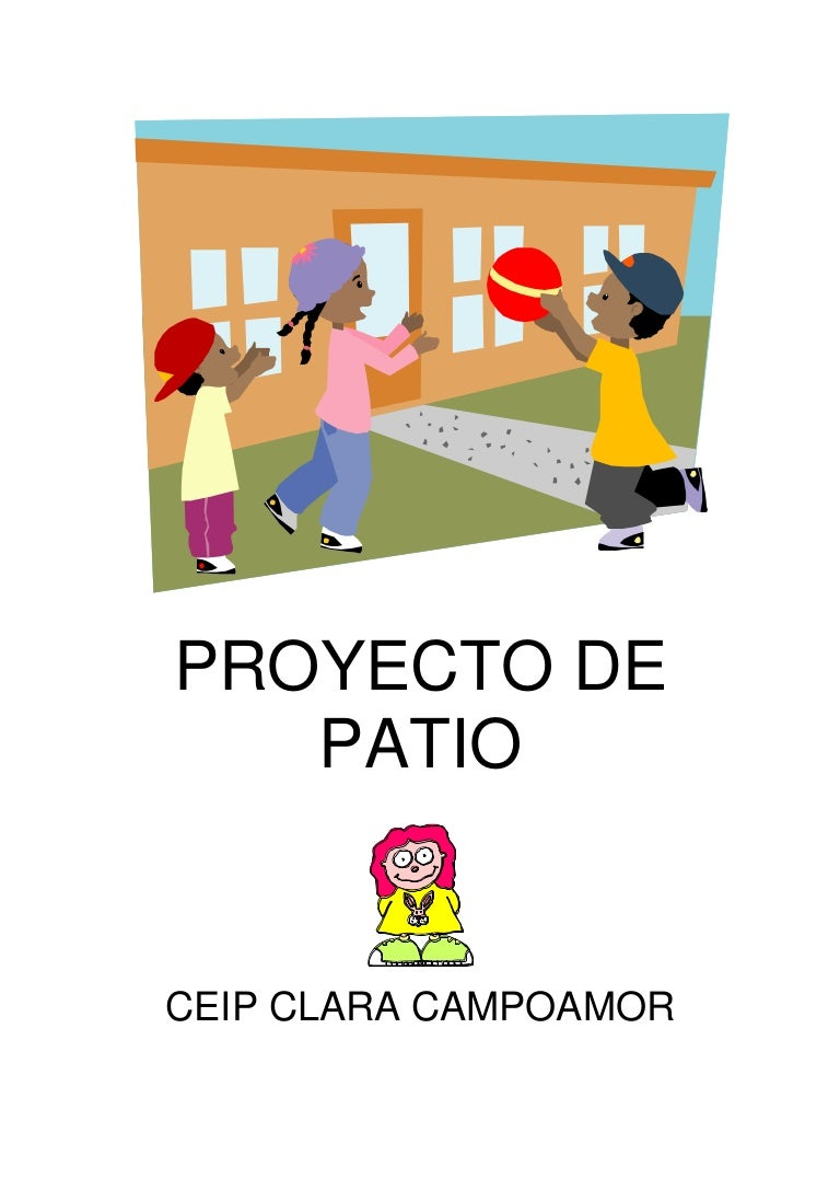 Proyecto de patio for Planos mobiliario escolar peru