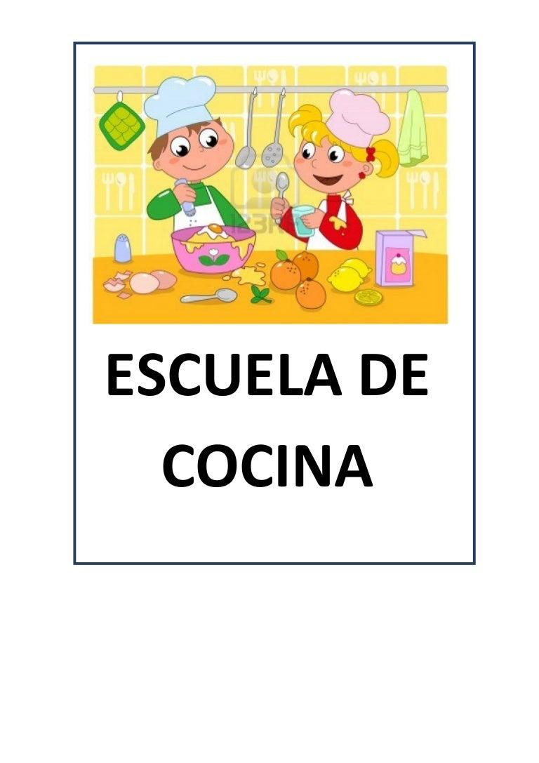 Proyecto escuela de cocina fichas y otros recursos for Proyecto cocina restaurante