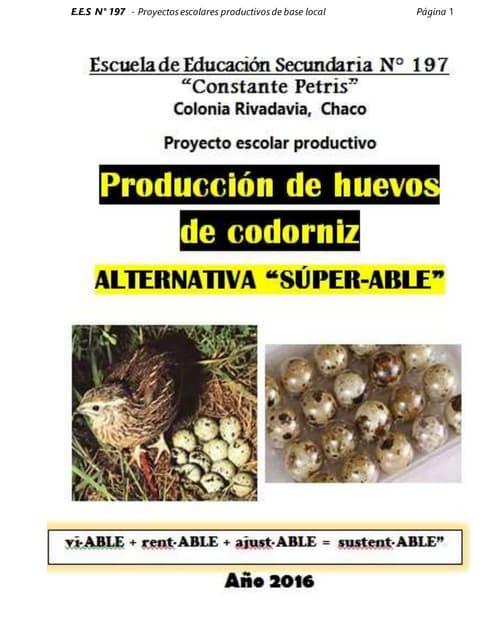 Proyectos codornices ees 197