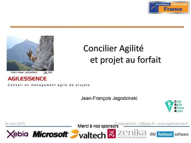 Forfait Agile FSUG2010