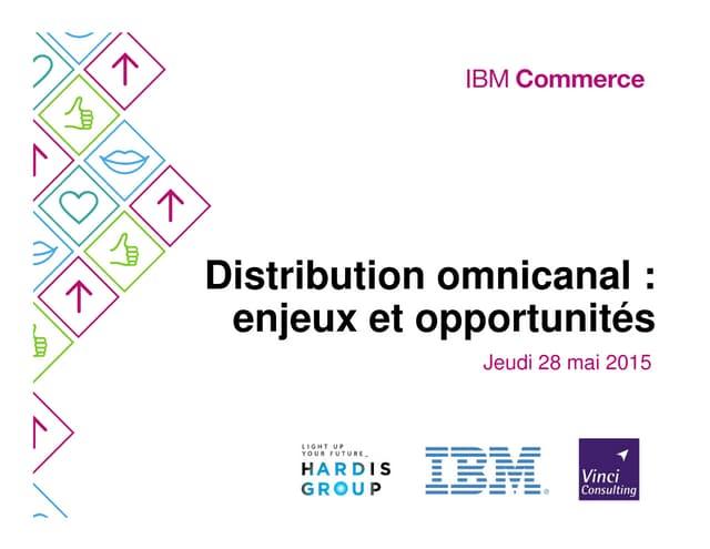Présentation IBM - Séminaire OMS avec Hardis et Vinci Consulting