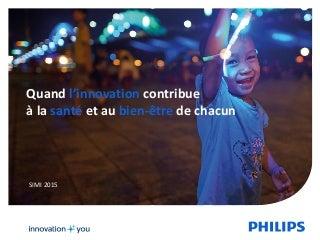 Présentation Philips Lighting - Alain Minet