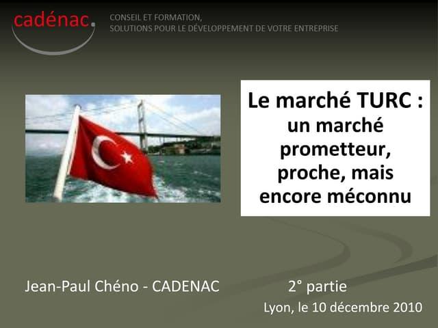 Présentation_Turquie_déc. 2010_2°partie