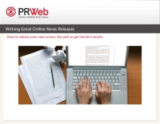 How do I write a press release for my business without making it sound like an advertisement?