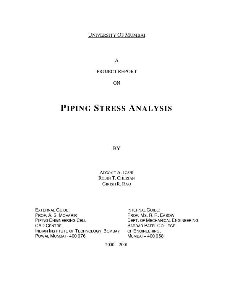 manual stress analysis