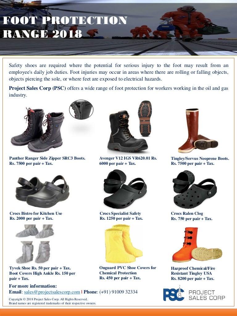 PSC Footwear 2018