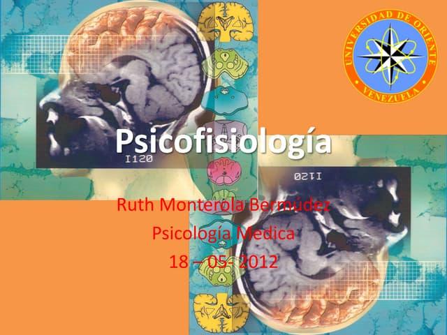 Psicofisiología   I-2012