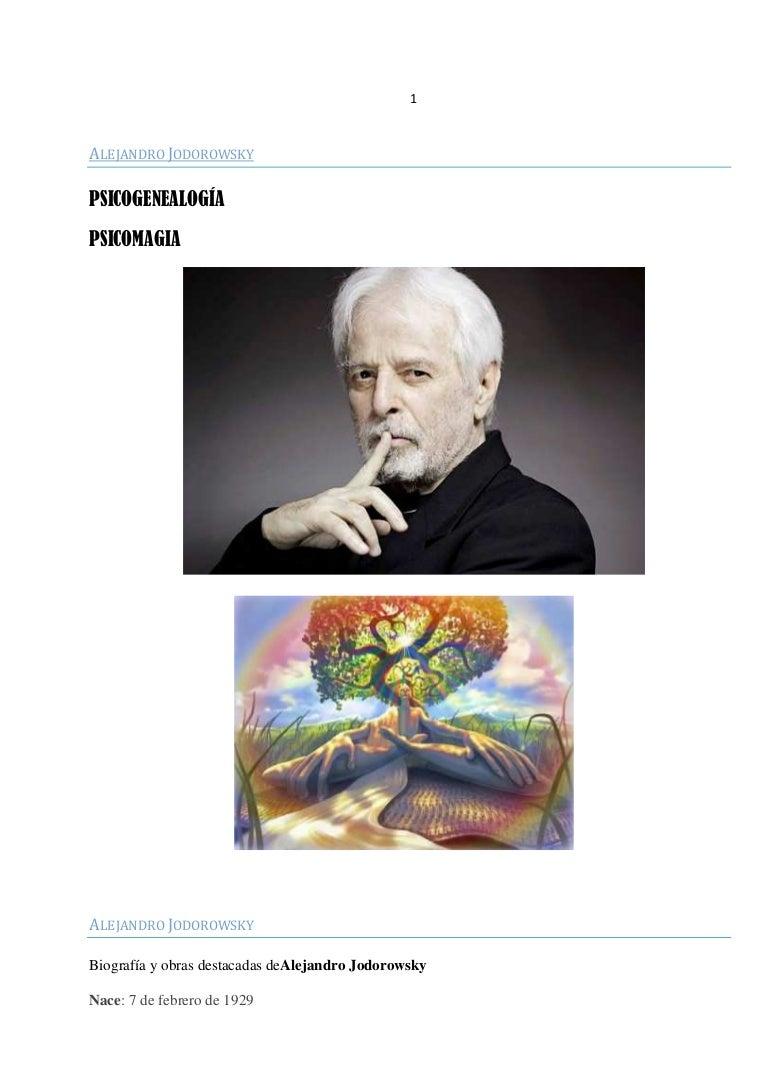 Psicogenealogia De Jodorosky