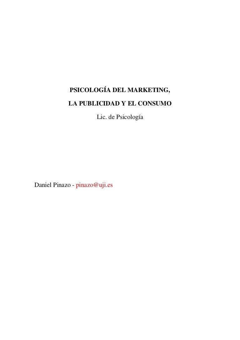 Psicología del marketing