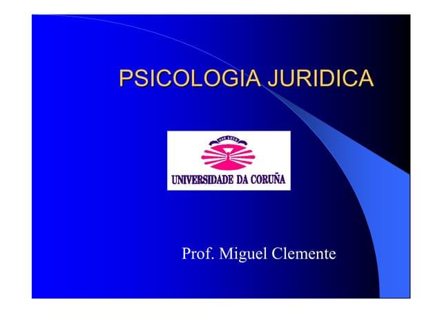Psicoloxia Xuridica