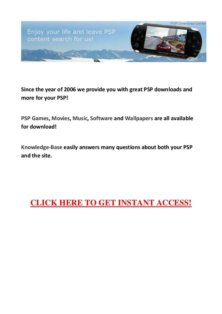 Psp go download center scam.