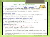 BSU PSYC 101 - Chapter 6 Lecture Slides (Memory)