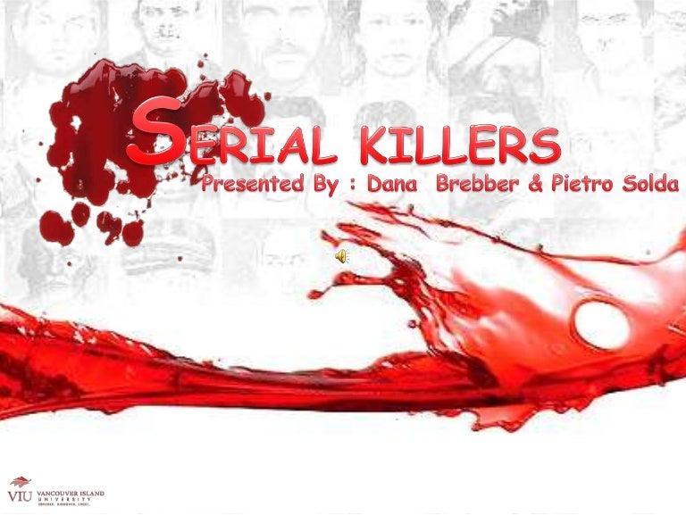 Serial Killers Psychology Presentation