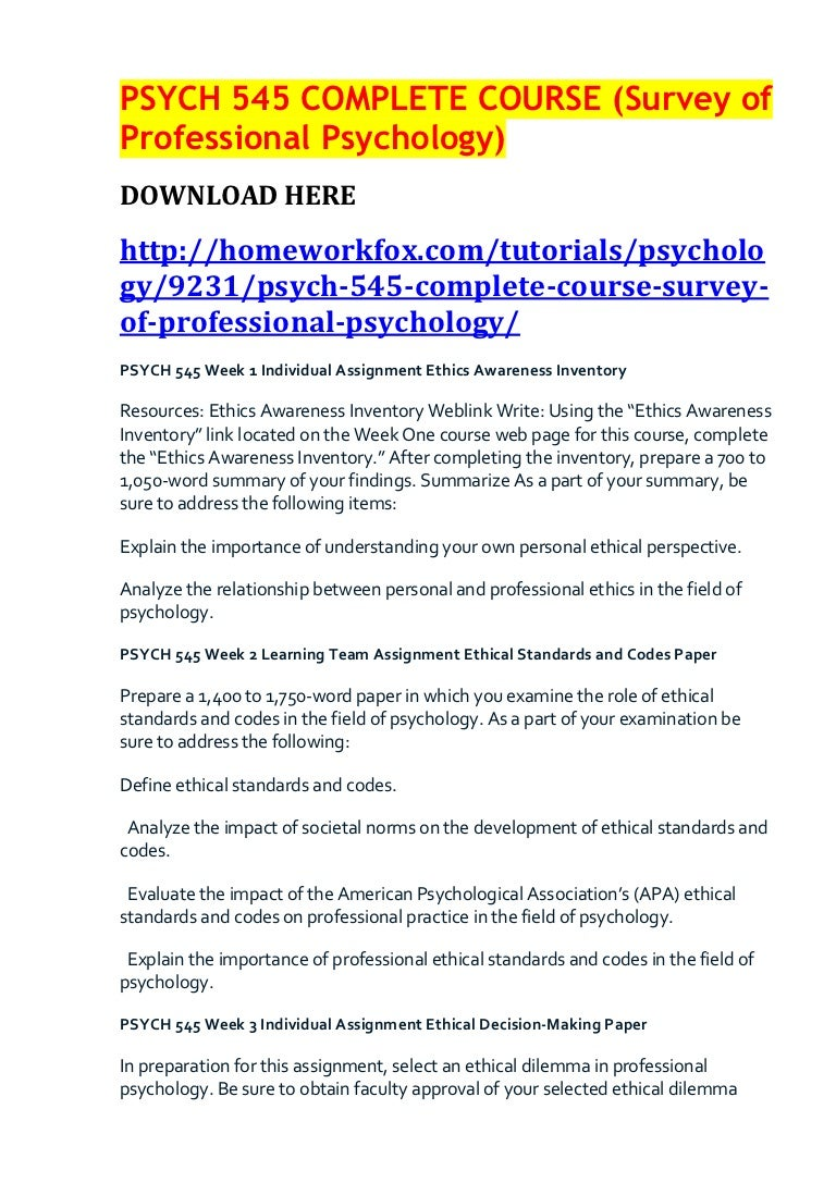 relationship between ethics and psychology