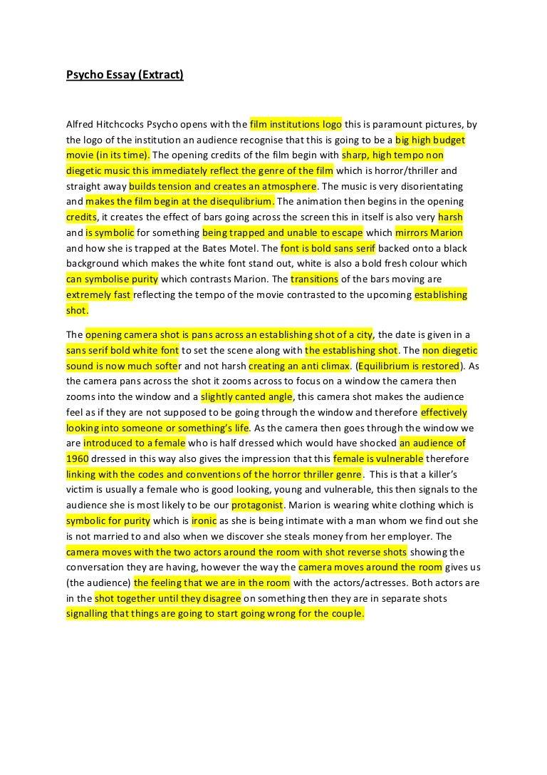 psycho essay final