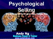 Psychological Selling