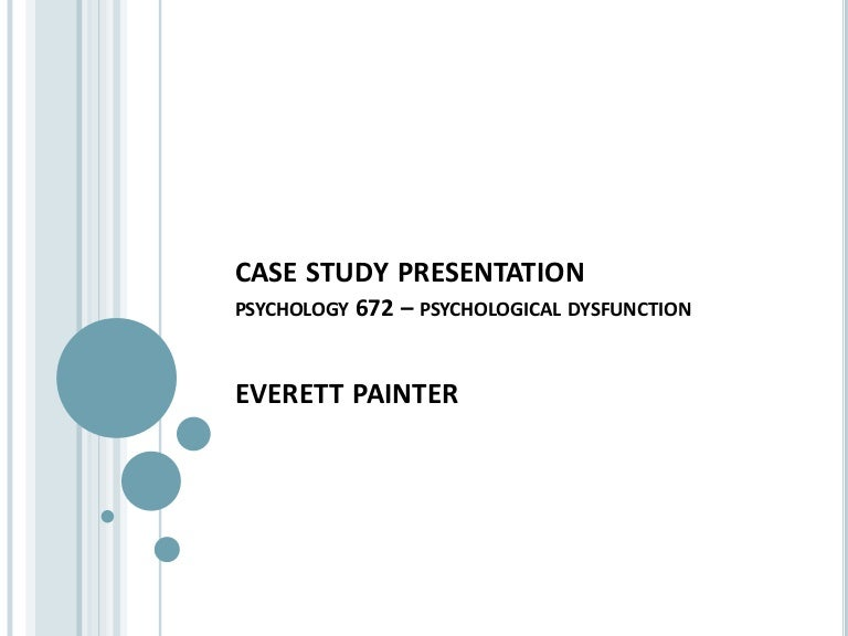 how to write a psychology case study essay
