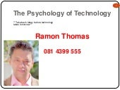 Psychology of technology 2011