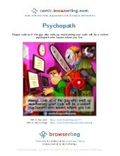 Psychopath - Webcomic about programmers, web developers and browsers