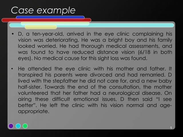 Somatoform disorder & psychosomatic disorder