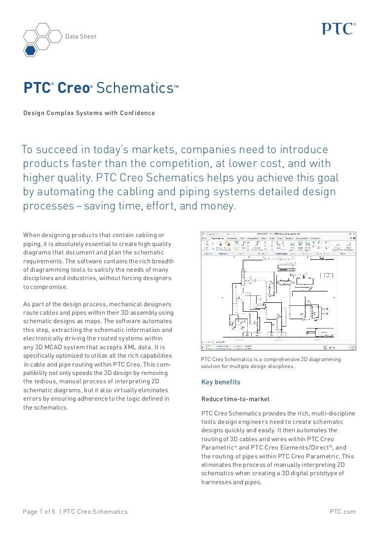 Ptc Creo Schematics Datasheet Wiring Diagram