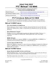 Ptc Mathcad 15.0 m045 read this first