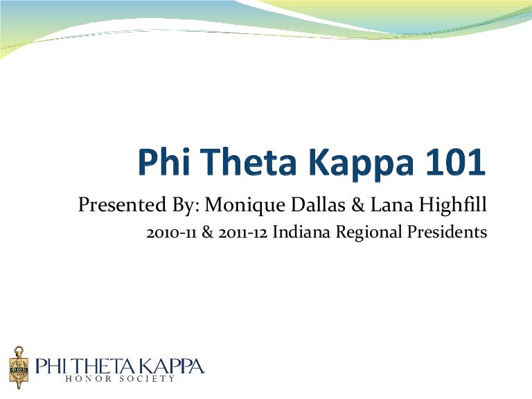 Phi Theta Kappa Phi Theta Kappa International Honor Society Of Two