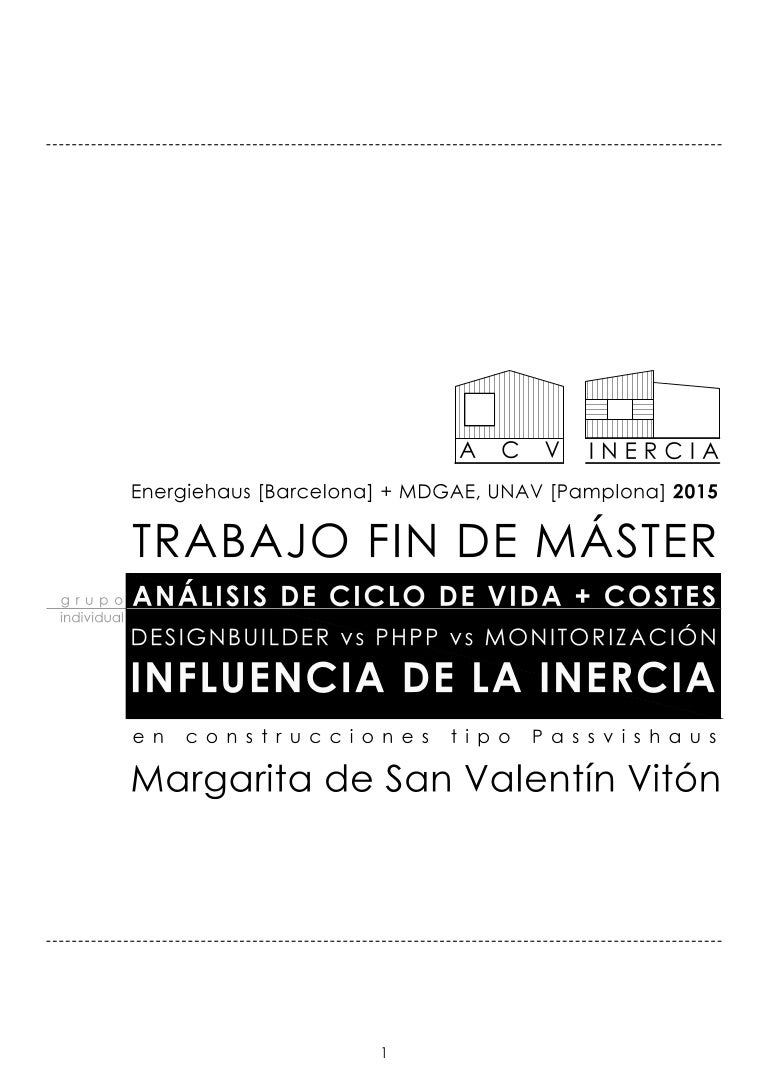 Margarita san valentín. memoria tfm