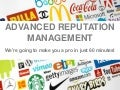 Advanced Reputation Management - Pubcon Vegas by Andy Beal & Erin Jones
