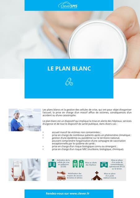 Plan Blanc Hospitalier : Cellule de crise dans les hospitaux