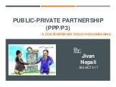 Public Private Partnership (PPP)