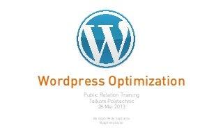 Wordpress Optimization