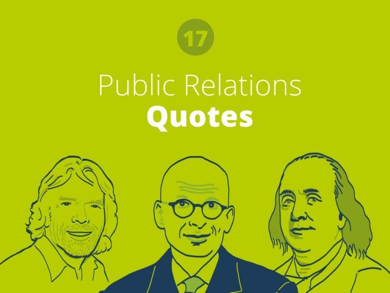 40 Inspirational Public Relations Quotes Best Pr Quotes