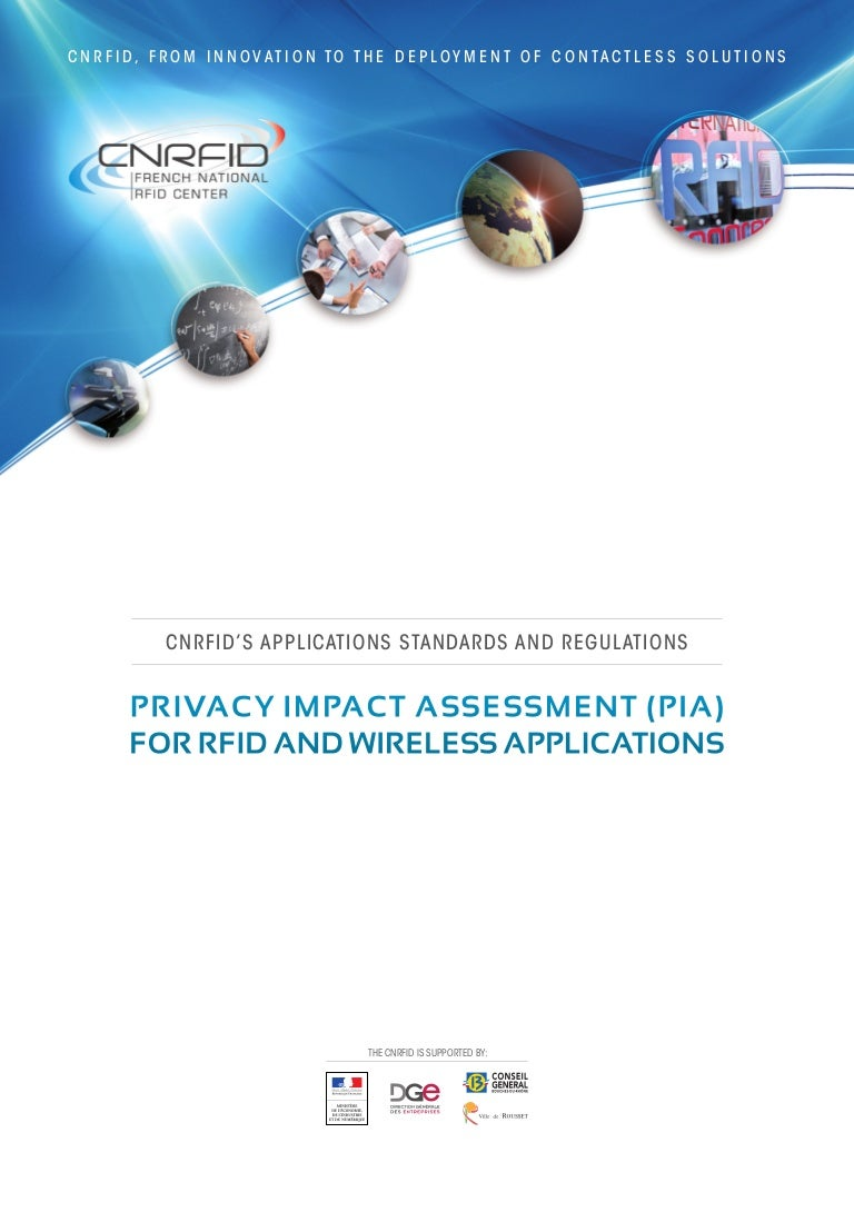 PRIVACY IMPACT ASSESSMENT (PIA) FOR RFID AND WIRELESS