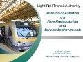 Public consultation   Light Rail Transit - feb 4 2011