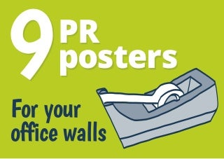 9 public relations tip posters for you office walls