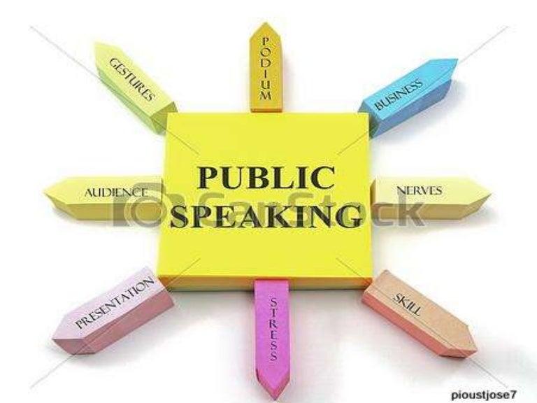 public speaking workshop pdf