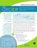 ORCID Flyer - Publishers (Catalan)