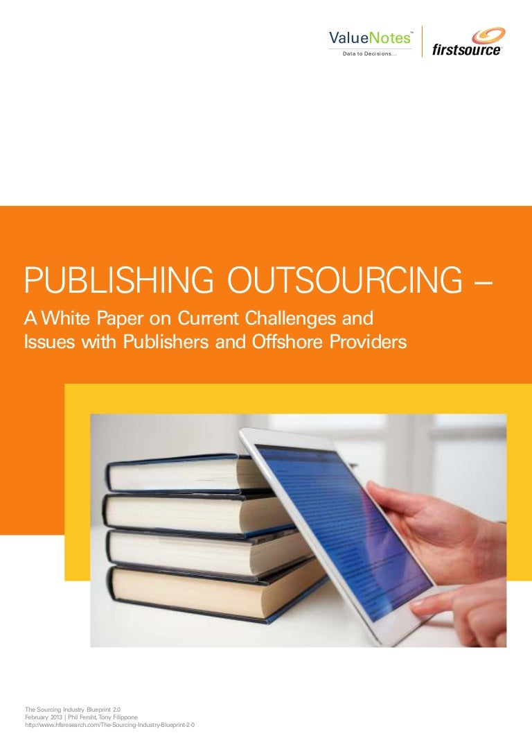 Publishing outsourcing white paper malvernweather Gallery