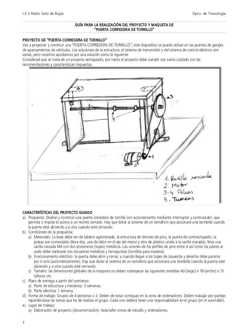 Puerta corredera con poleas - Mecanismo puerta corredera ...